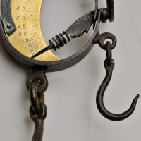 Antique Wool Weighing Scales  thumbnail