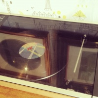 1970's Retro Bang & Olufsen BEOCENTER 2002 Record deck, tape cassette & Radio with original speakers thumbnail