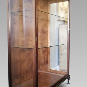 Antique Museum Display Cabinet c.1920 thumbnail