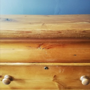 Antique Scottish Pine Chest of Drawers thumbnail