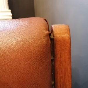 Arts and Crafts Campaign Library Chair thumbnail